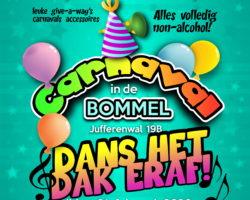 Bommel organiseert gezellige Jeugd Carnaval 2020