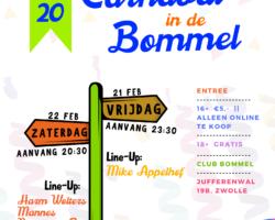 Bommel organiseer CARNAVAL IN DE BOMMEL
